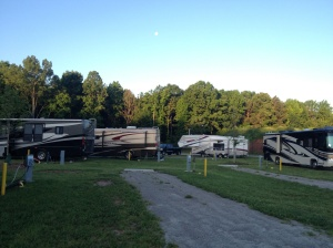 RV park at NC State Fairgrounds