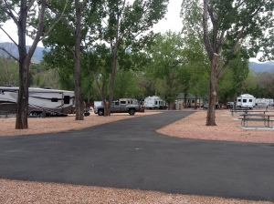 Campsite at Garden of the Gods