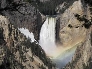 Lower Falls with rainbow