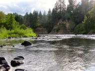 View from the Clackamas River