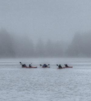 Ft Stevens Kayak tour