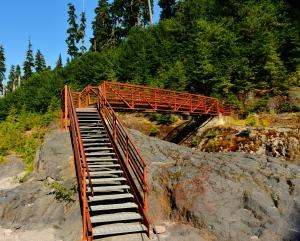 lava canyon bridge