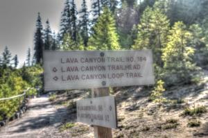 lava caynon sign